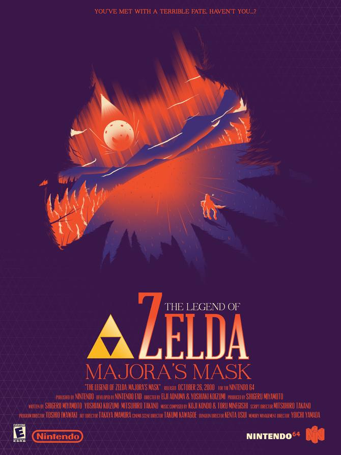 The Legend of Zelda - Marinko Milosevski Illustration and