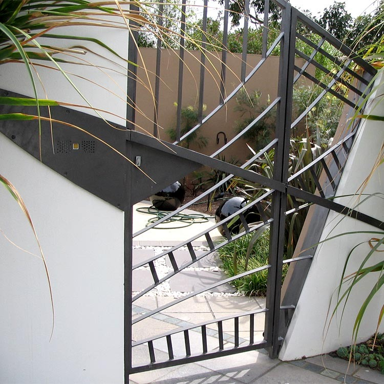 Attractive Gate Design   Selwyn Blackstone Architect Melbourne | Development,  Apartments, Townhouses, Residential, Beach Houses, Commercial Buildings,  Interior Design