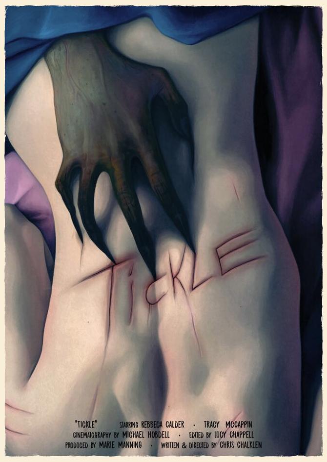 Tickling of the art Tickling her