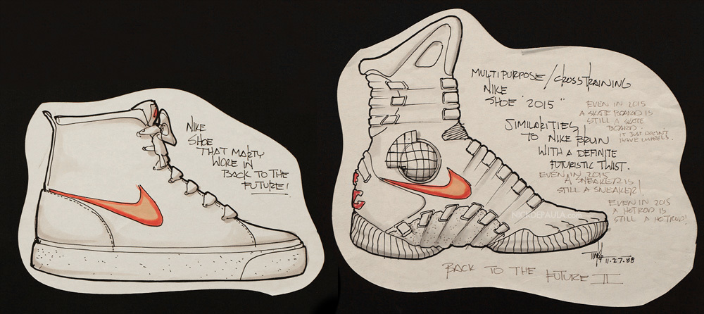 b88c0253aba TINKER HATFIELD    DESIGNING THE NIKE MAG words   interview    Nick DePaula  portraits    Steve Mullholand   Zac Dubasik video production    Jotham  Porzio