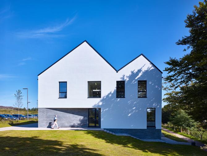 Ionad Iain Nobail Rural Design Architects Isle Of Skye