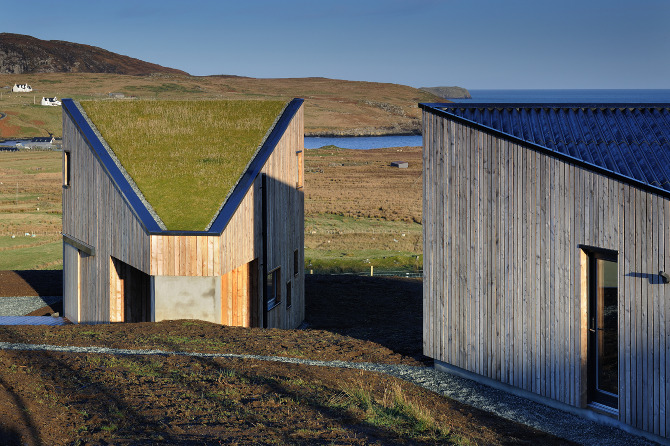 Turf House Rural Design Architects Isle Of Skye And