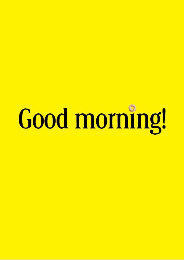 Cheerios Good Morning Daniel Atlason