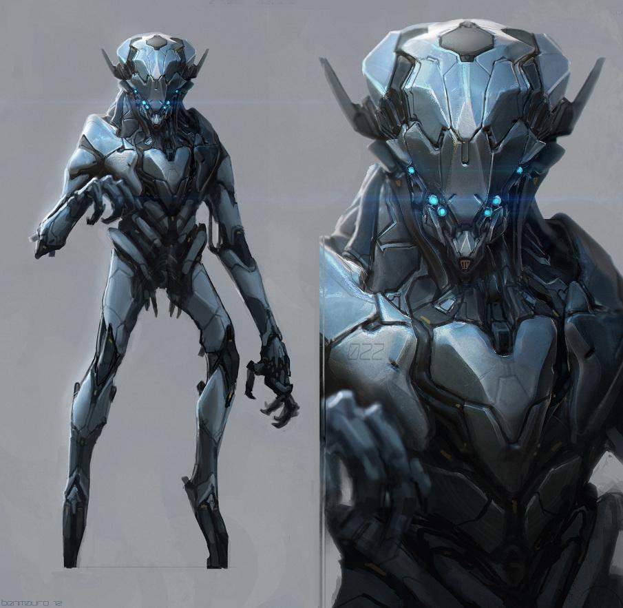 Robotics/Weapons - Ben Mauro Design
