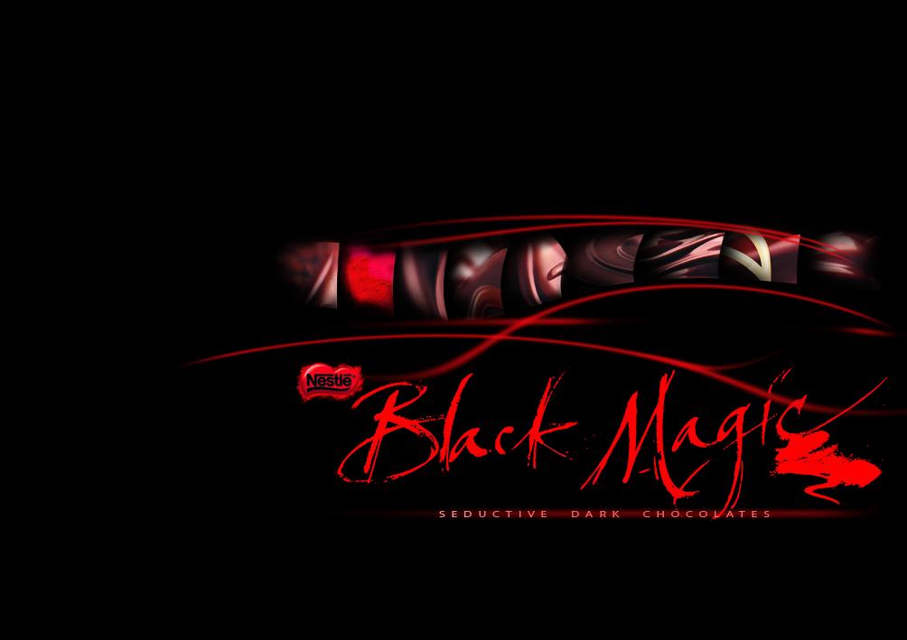 Black Magic Chocolates Will Fletcher Brand Design