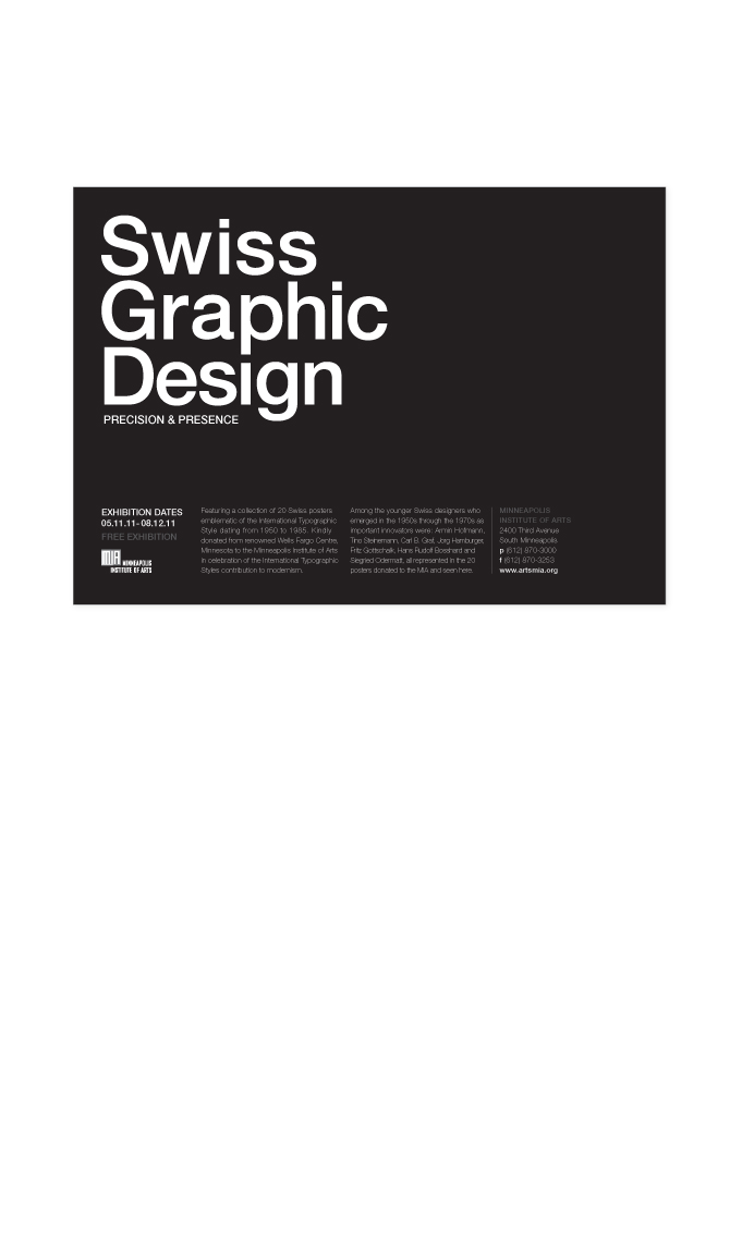 Swiss Graphic Design - Lucy Foot Design