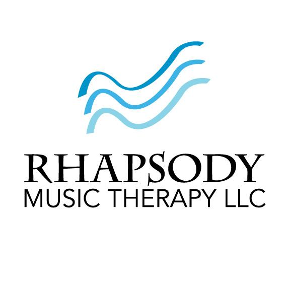 Rhapsody Music Therapy Logo Sean Kenny Graphic Design