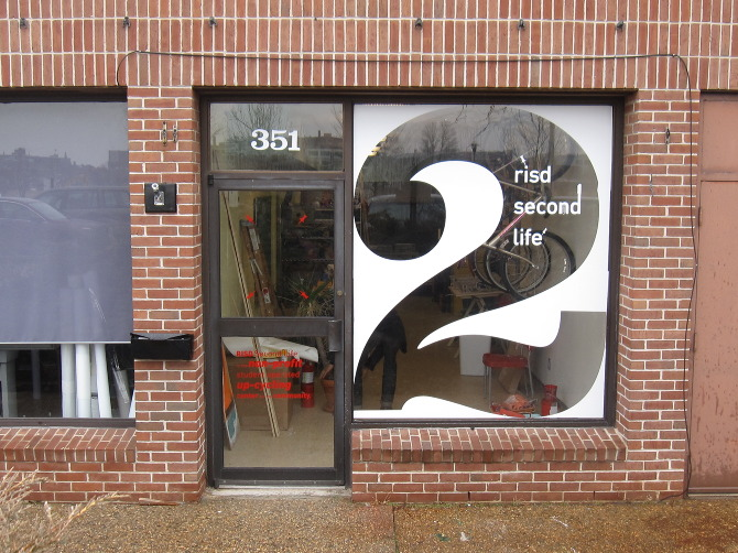 Have you ever passed by a store and seen beautiful product or brand imagery on their window pane?