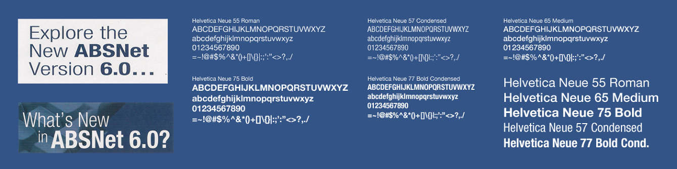 ABSNet 6 0 - BROOK GRFFIN | Art Director & Designer