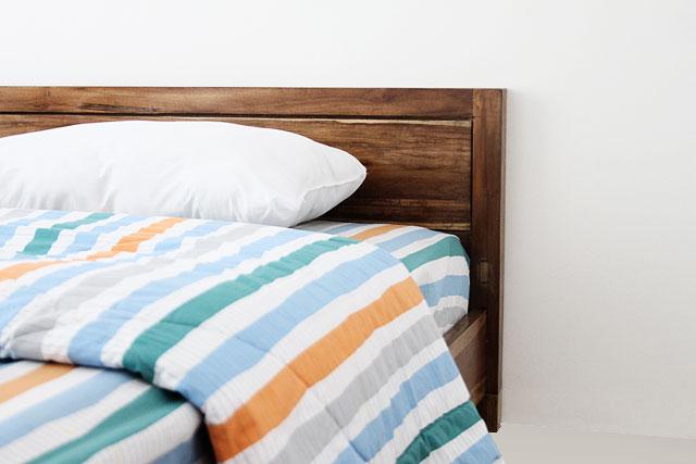 Turu Teak Wood Bed Frame Kayu Perak