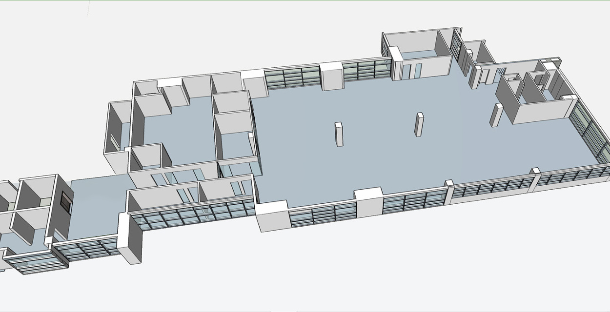 SketchUp 3D renders + 2D layouts - Andy Portello Design