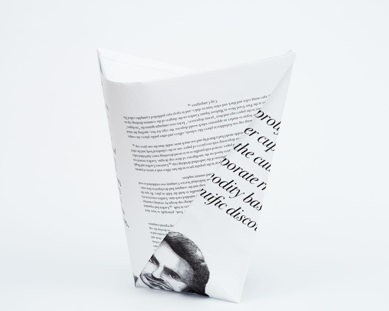 Broadsheet Vol 1 No 1: Paper Cup - 8 5x11