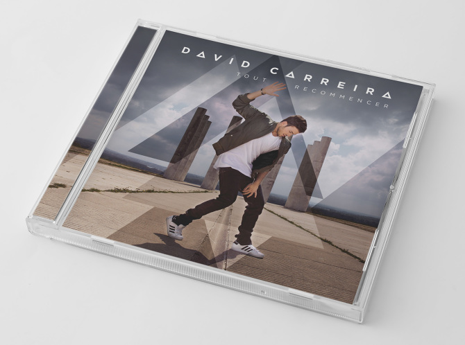 album david carreira tout recommencer