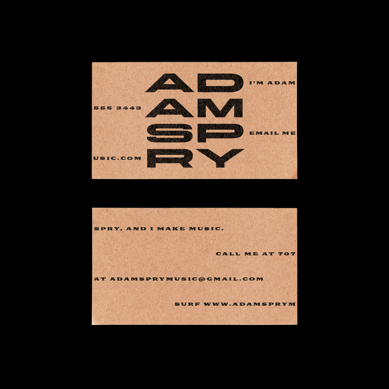 Adam Spry - Ryan Bugden
