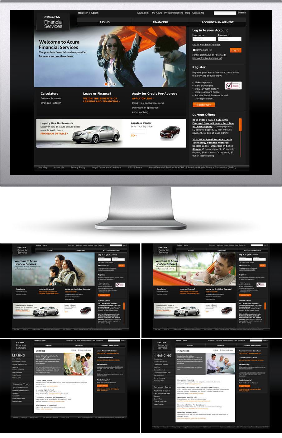 Hondafinancialservices Com Account Management >> Acura Financial Services S2