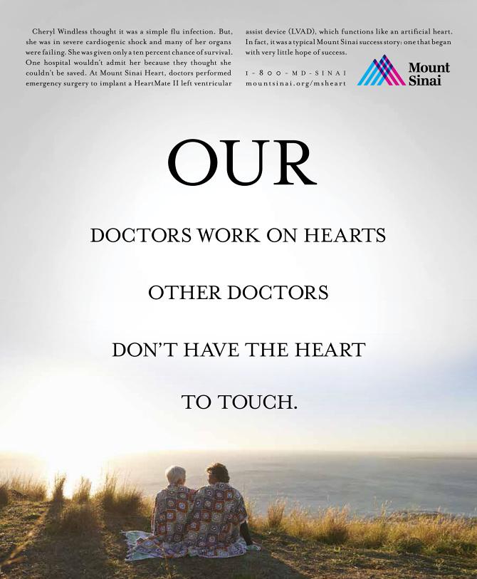 Mount Sinai Medical Center - John DeVito Advertising