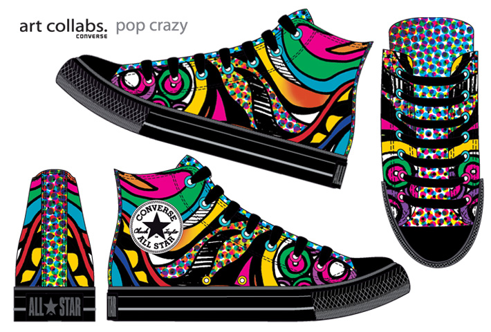 Converse - Art Collabs - www.andreiamariano.com.br