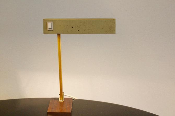 Adjustable Brass Table Lamp By Pf 228 Ffle Leuchten