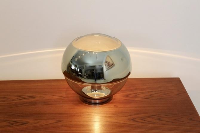Peill Amp Putzler Chromed Mirror Full Glass Table Lamp