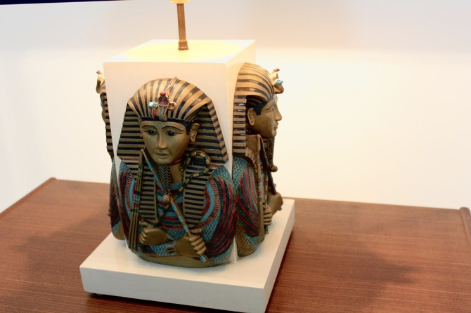 Exclusive Pharaoh Toetanchamon Table Lamp Mooiestukken
