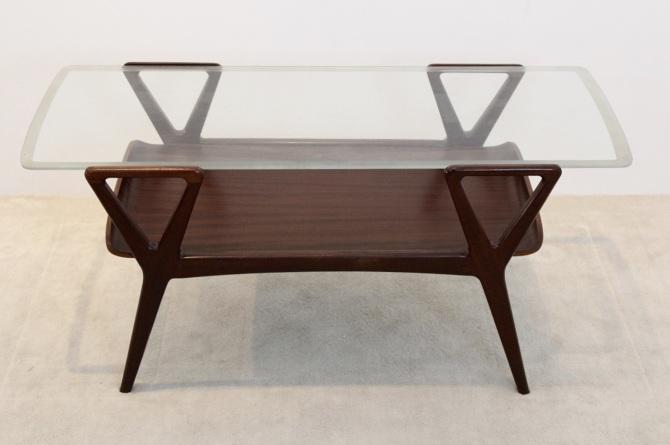 Magnificent Scandinavian Teak Coffee Table With Glass Top Mooiestukken Caraccident5 Cool Chair Designs And Ideas Caraccident5Info