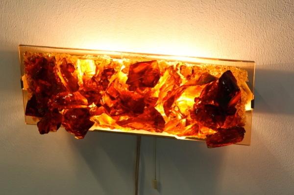 Cosack Crystal Bronze Glass Wall Light Mooiestukken