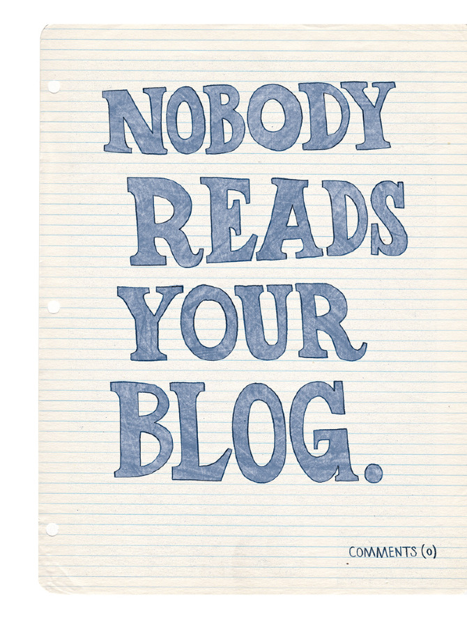 note to self blog
