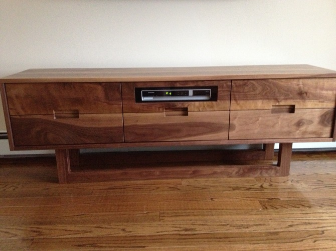 tv stand walnut solid wood kitchen more inc. Black Bedroom Furniture Sets. Home Design Ideas