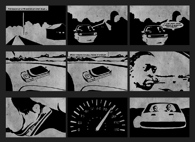storyboard / The Good Guys - teodros tv
