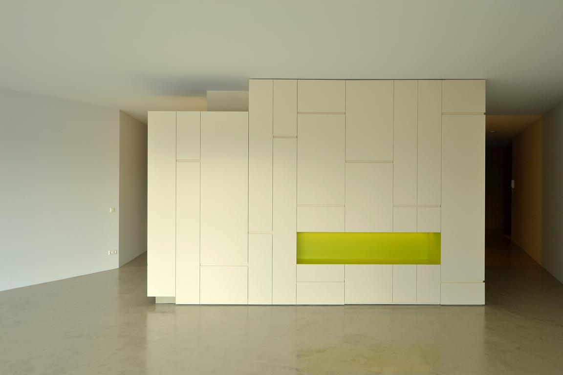 Interieur De Luxe Appartement luxe appartement, oosterdokseiland amsterdam - hg meubelmakers