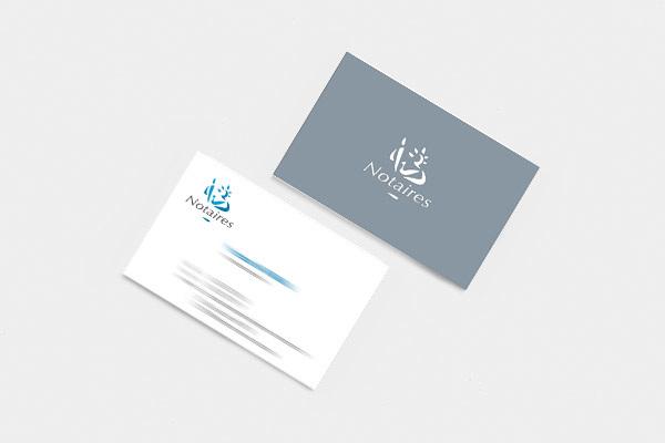 Cartes De Visite Pour Cabinet Notaires