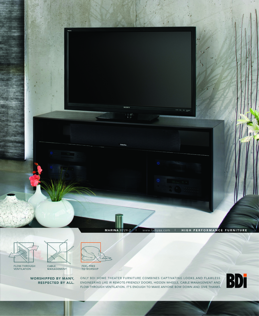 Bdi home theater furniture