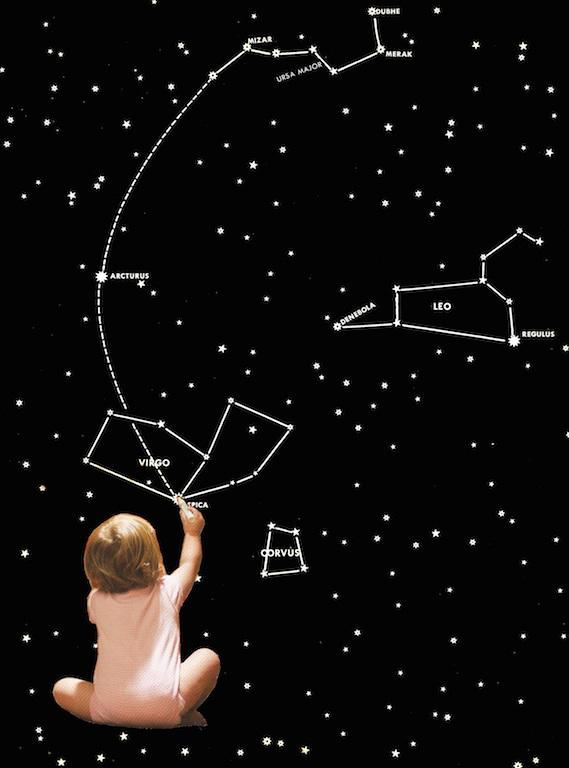 Открытки, картинки созвездий с надписями