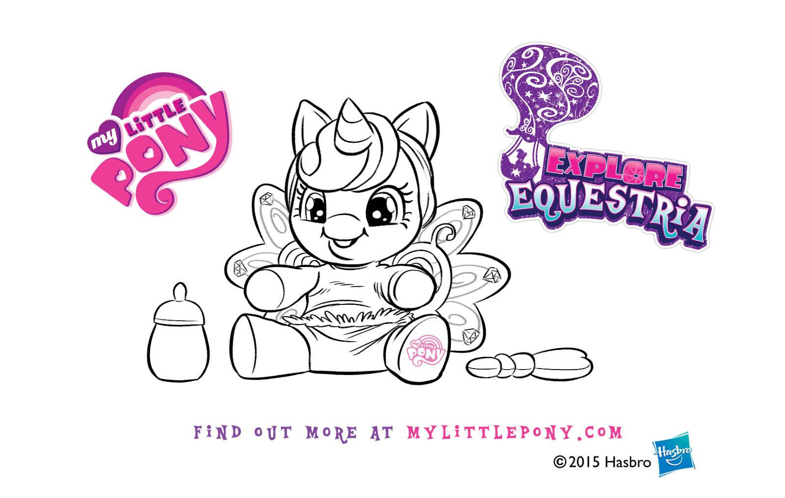 My Little Pony Baby Flurry Heart Commercial Board Lauren Monardo Gramprey