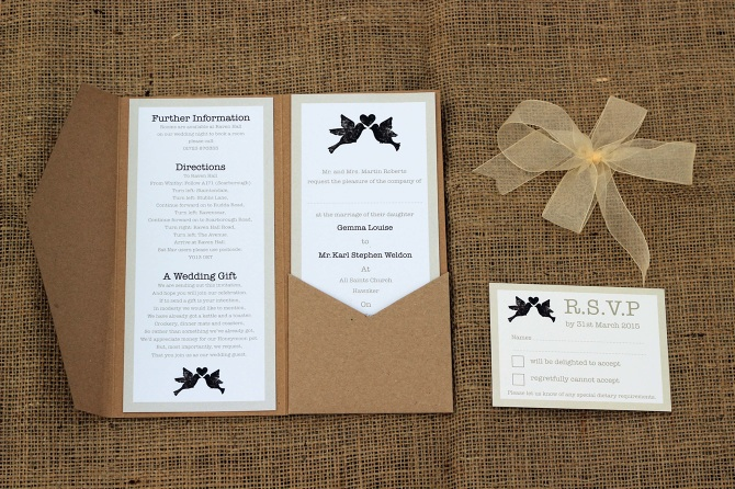 Wedding Stationery Collection John Muir