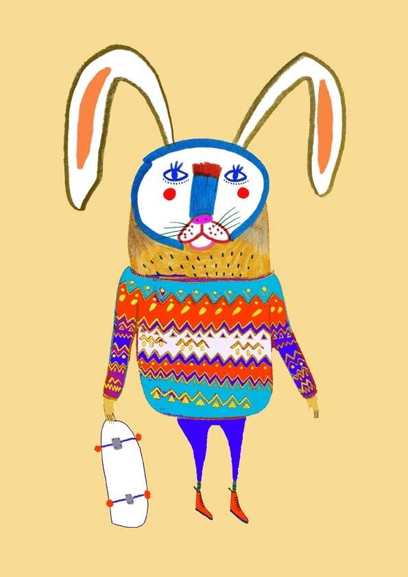 7310e6db25 animal illustrations - childrens illustrator - art prints - nature -  colorful - animals - illustration - illustrator - print - pattern -  designer - cute ...