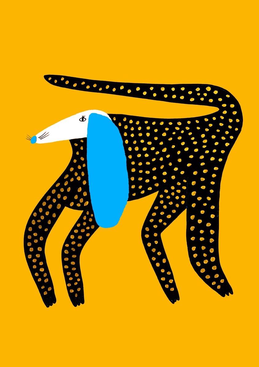 Dog Illustration Dog Art Dog Design Animal Artwork Kids Illustrator Nature Logo Design Kids Clothing Designer Pattern Cute Colorful Artist Children S Illustration Ashley Percival Illustration