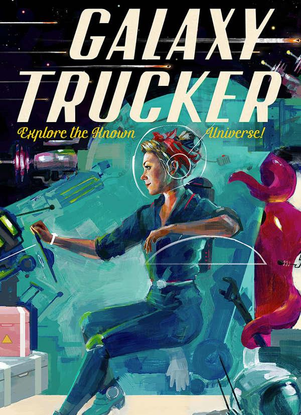 Galaxy Trucker (BGG Artist Series) - Kwanchai Moriya