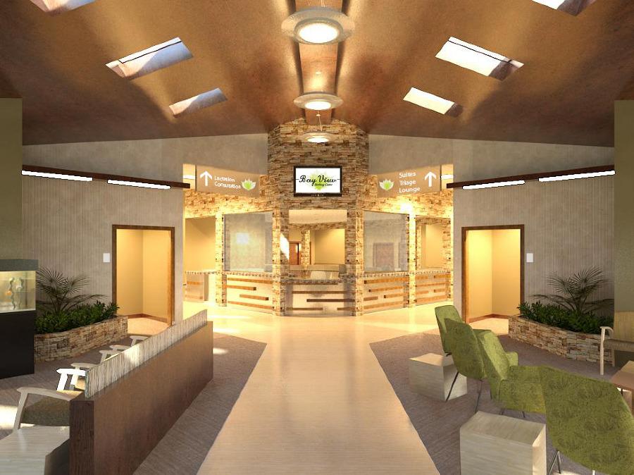 Bay View Birthing Center Design Portfolio