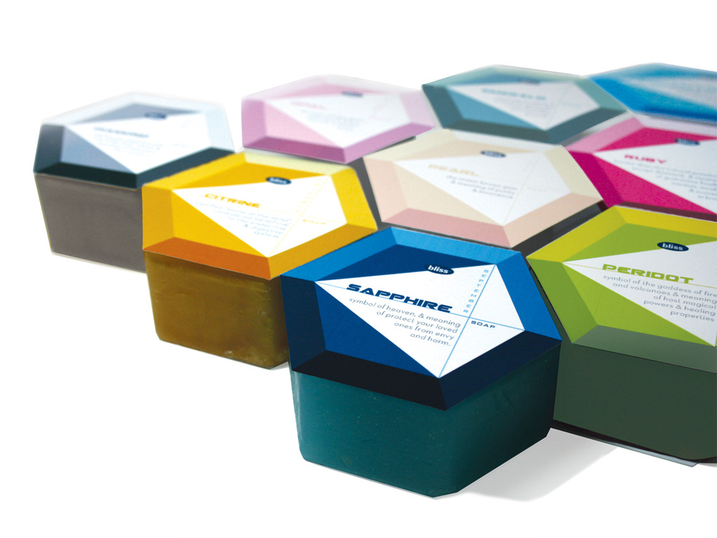 Birthstone Soap Packaging  ju