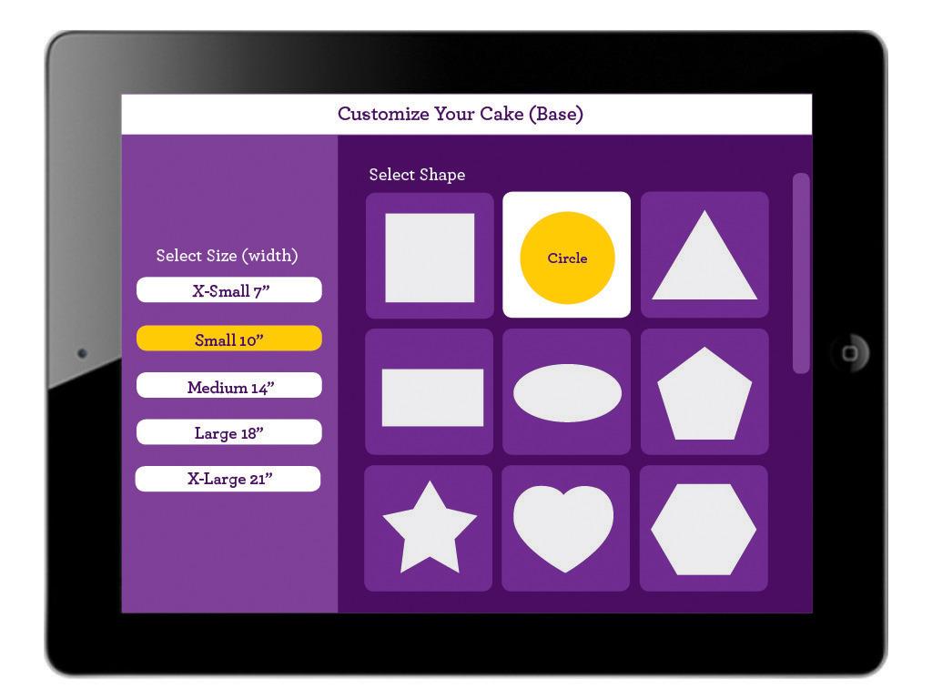 Cake Lab App Design Ju