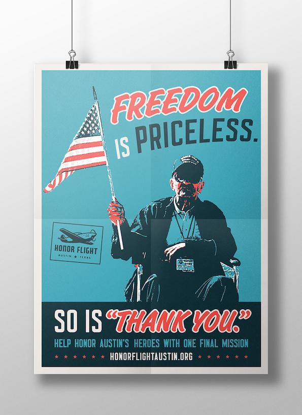 honor flight posters