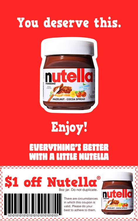 Nutella Andrew Burke S Copywriting Portfolio