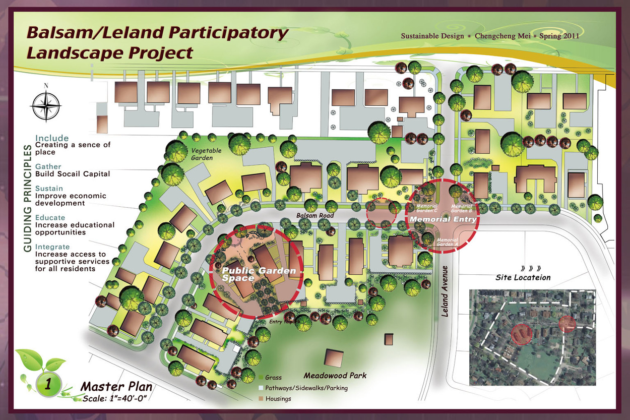 Balsam Leland Participatory Landscape Project 梅诚成 Chengcheng Mei