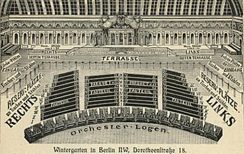 Wintergarten Berlin Observatori Espais Escènics
