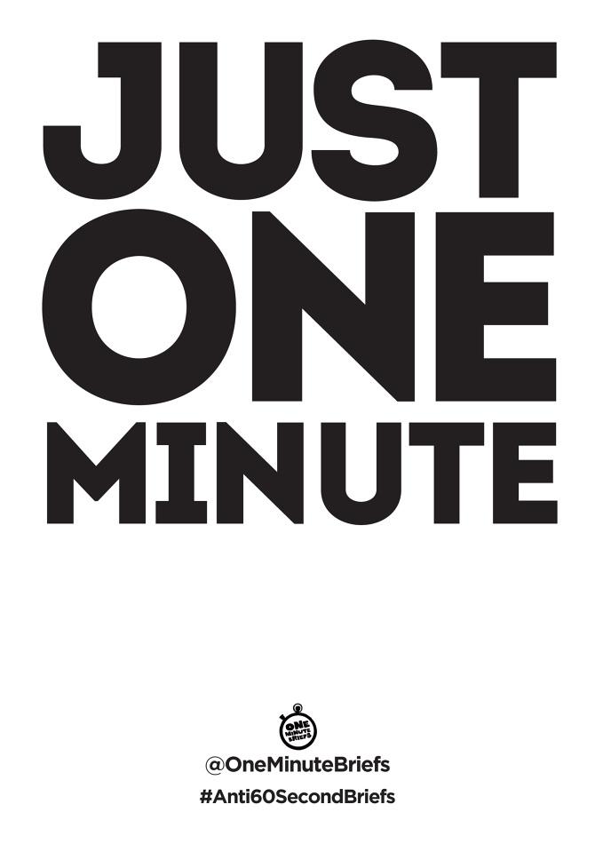 one minute briefs concrete design studio
