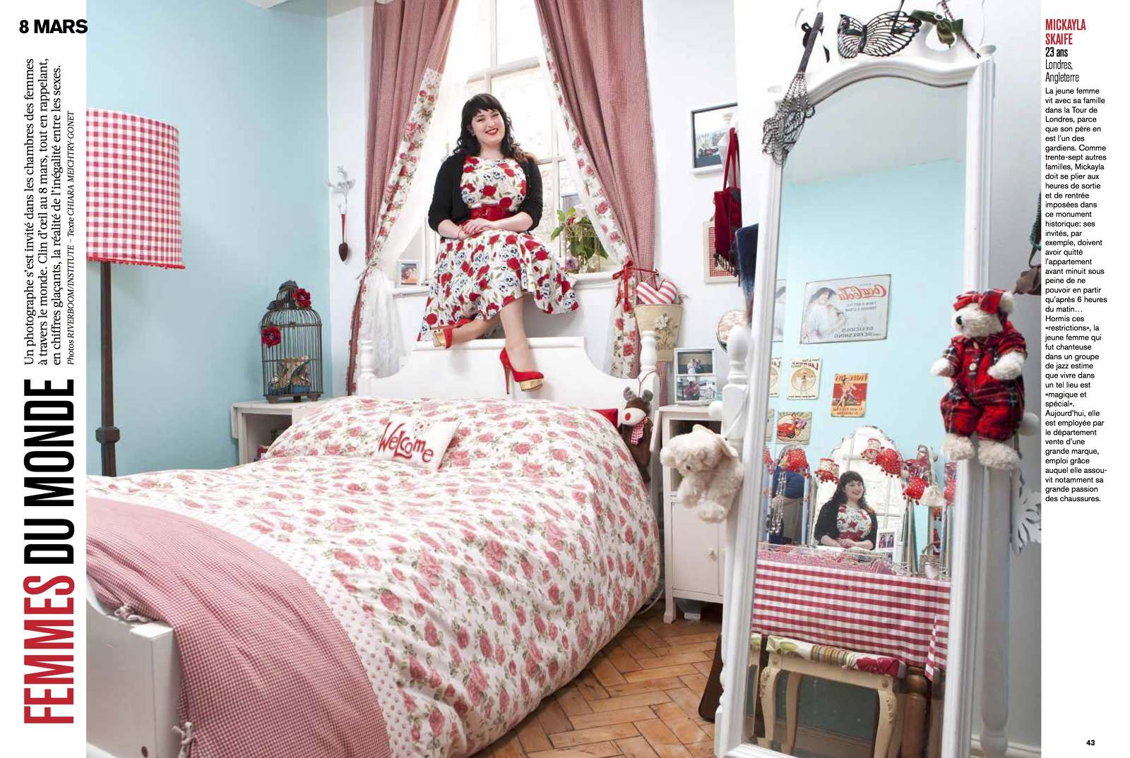 tearsheet: Riverboom\'s \'Girls\' Bedrooms: Mirrors and Windows ...