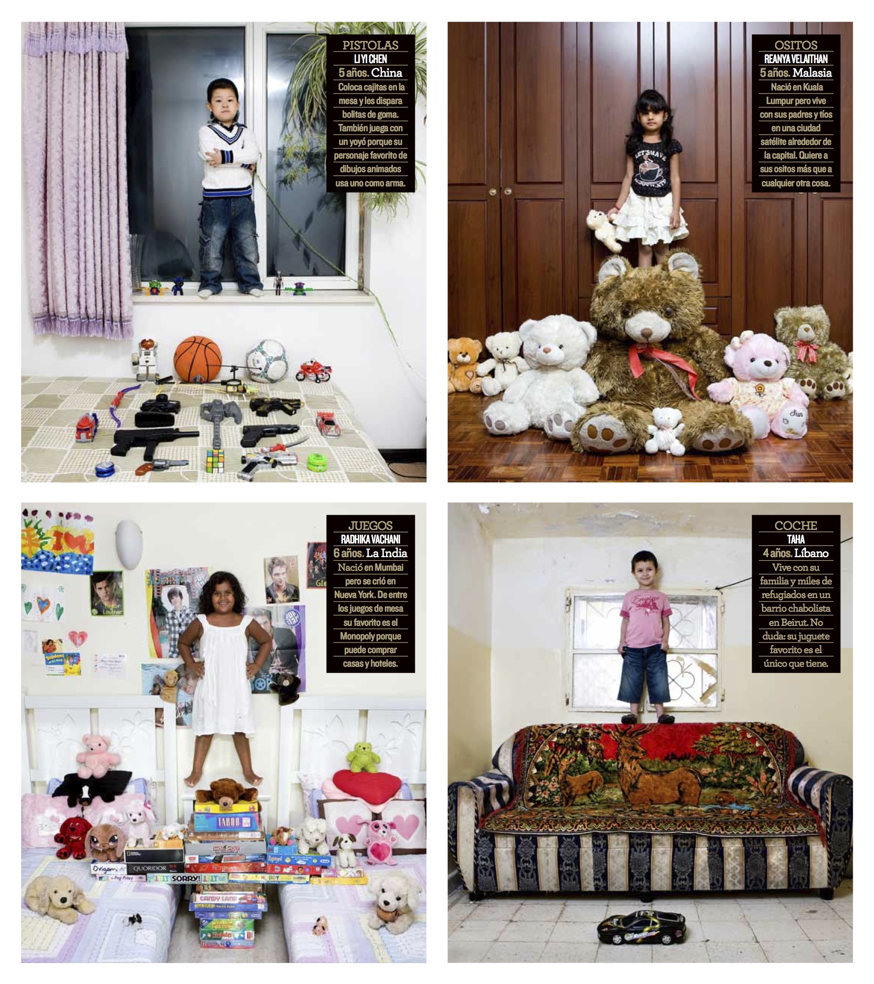 Tearsheet Gabriele Galimbertis Toy Stories In El Mundo Magazine