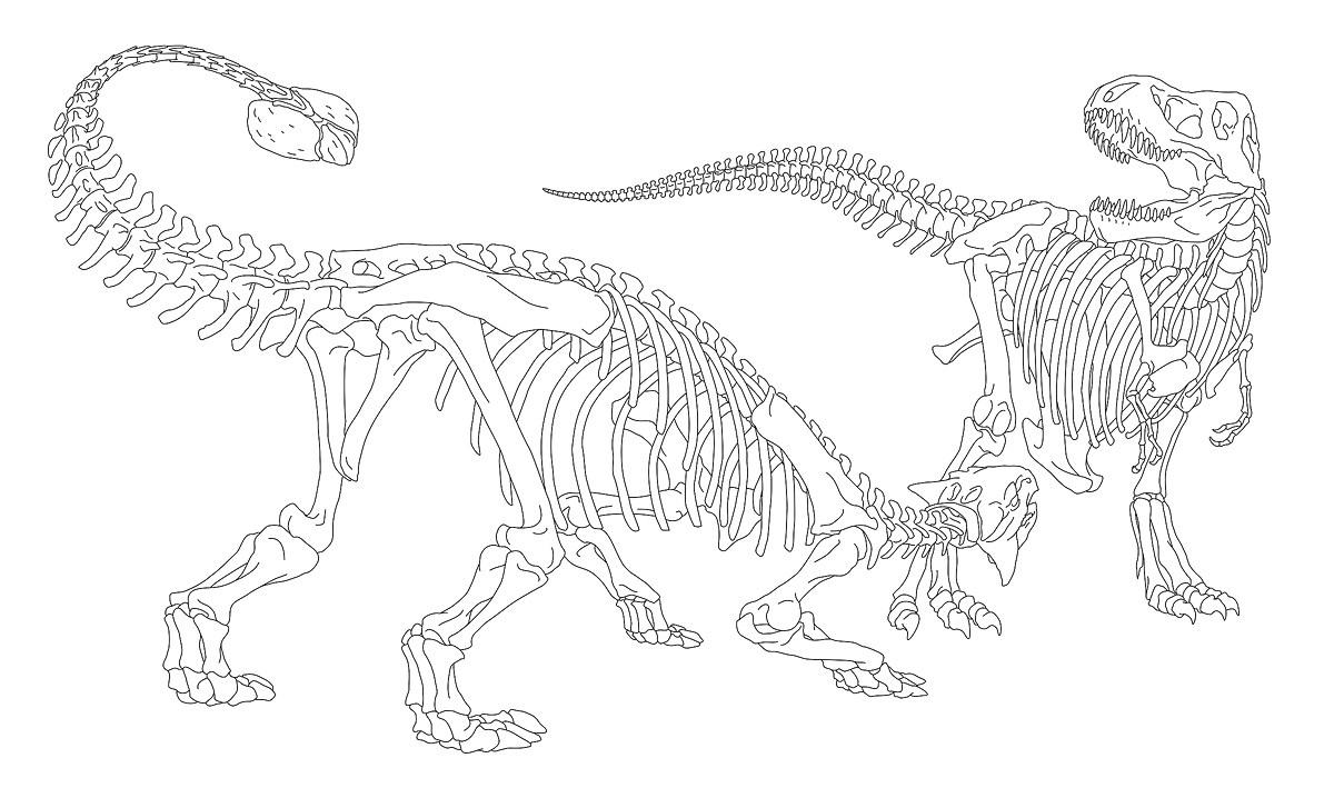 ankylosaurus tyrannosaurus the art of eldar zakirov