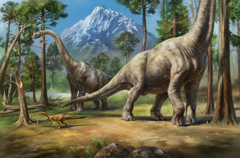 brachiosaurus the art of eldar zakirov